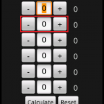 Horizontal NumberPicker